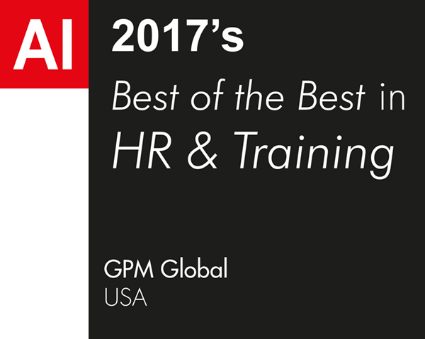 GPM Global Best of the best in in HR Training 2017 1702AI84 winners logo web